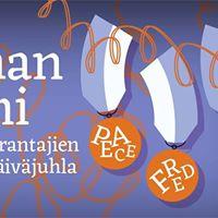 Rauhan Suomi  Maailmanparantajien itsenisyyspivjuhla