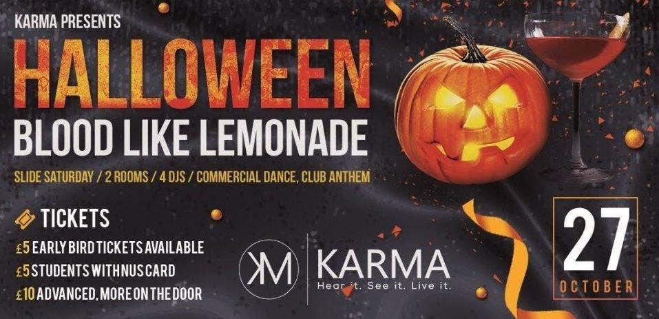 Karma Presents Blood Like Lemonade Halloween Special with Tony Tee and Pedge Santini