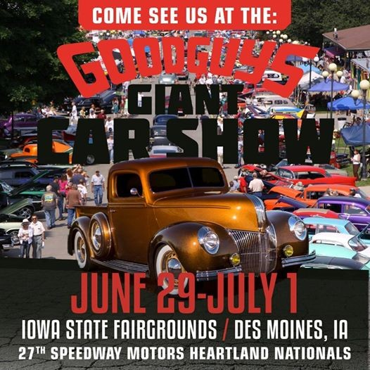 Goodguys Giant Car Show At Renewal By Andersen Of Des Moines Iowa - Good guys car show iowa