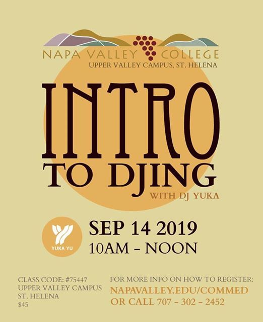 INTRO to DJING at Napa Valley College - Upper Valley Campus