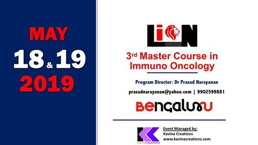 LION - 3rd Masterclass in ImmunoOncology