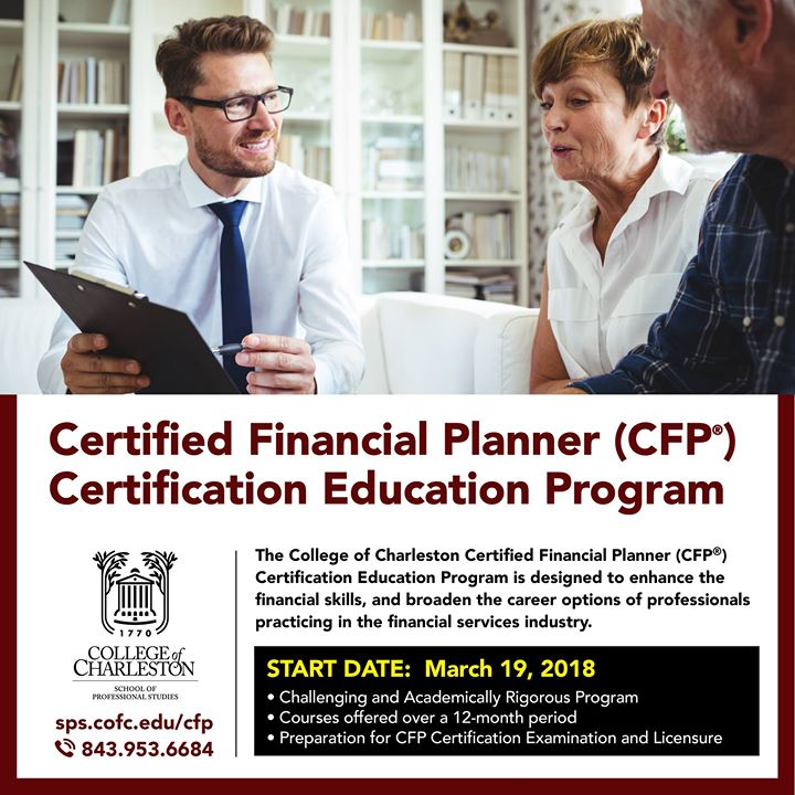 Certified Financial Plannercfp Certification Education Program At
