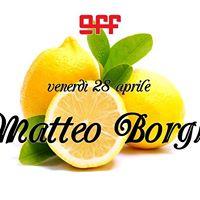 Matteo Borghi (at) OFF Modena
