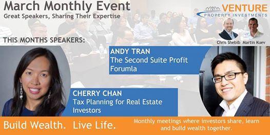 Tax Planning for Investors & The Second Suite Profit Formula
