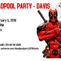Deadpool Party Davis