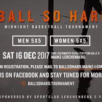 Ball So Hard  Midnight Basketball Tournament