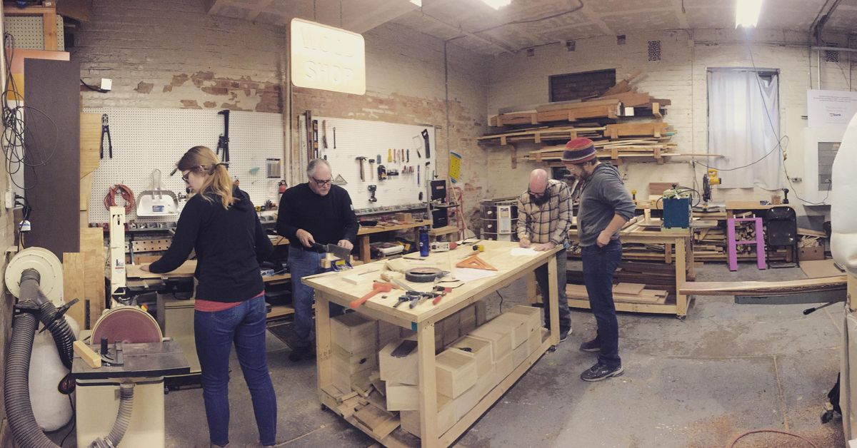 Intro To Woodworking At Wave Pool A Contemporary Art
