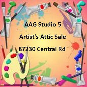Artists Attic Yard Sale at APPLEGATE ART GUILD & GALLERY, Elmira