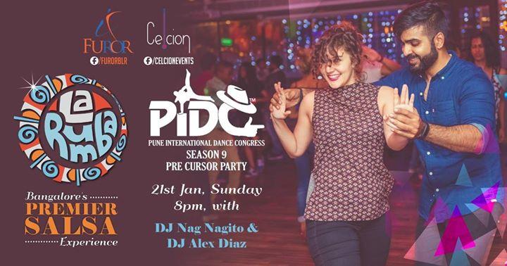 La Rumba PIDC PreCursor Party 21-Jan