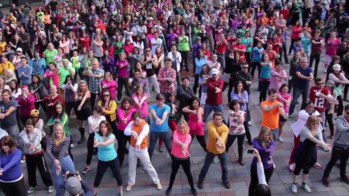 2017 Houston Filipino Street Festival Flash Mob Practice