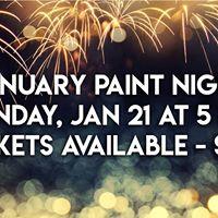 January Paint Night