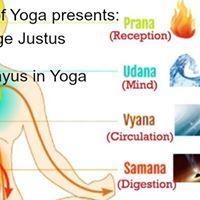 The 5 Prana Vayus in Yoga