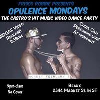Opulence Mondays Chris Cali IDGAF Video Release  Live Performance at Beaux