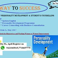 Free Workshop on Personality Grooming and Self Confidence Buildi