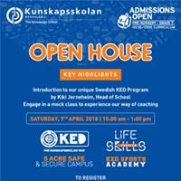 Relive the moment of being a student again at Kunskapsskolan