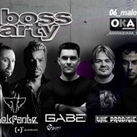 Gabe  Elekfantz na Boss Party
