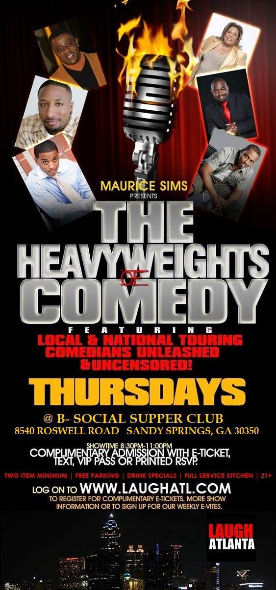 Thursday Night Comedy at B-Social Supper Club