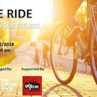 Cycle Ride - Challenge Your Fitness