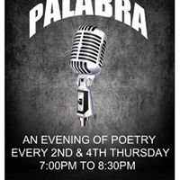Palabra - an evening of poetry