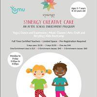 Synergy Creative Care  After School Enrichment Program