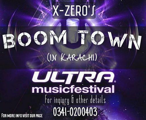 BOOM TOWN (Ultra Music Festival)