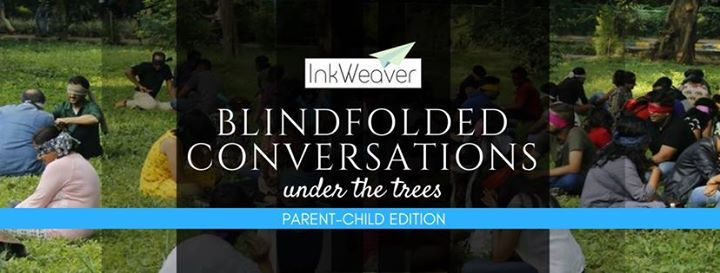 Blindfolded Conversations Under the Trees (Parent-Child Edition)