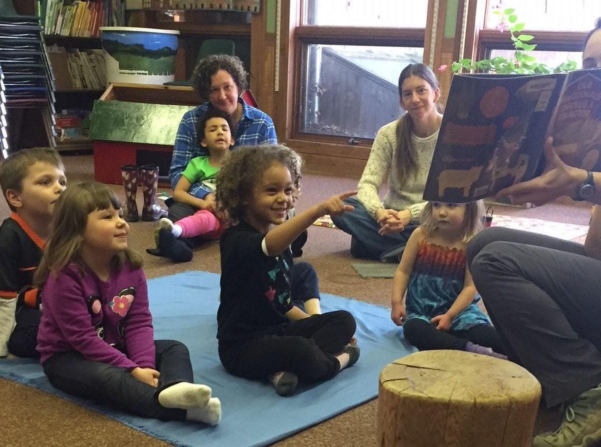 Friday Afternoon Preschool Story Hour Program (100 - 200 PM Fridays Winter 2019)