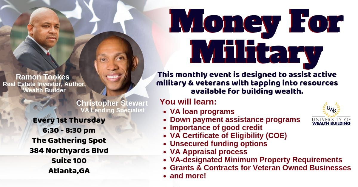 Money for Military - A University of Wealth Building Event