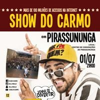 Show do Carmo com Hallorino Jr em Pirassununga