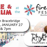 DRUM at the FIRE &amp ICE Festival
