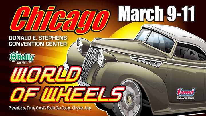Ou0027Reilly Auto Parts World Of Wheels Presented By South Oak Dodge