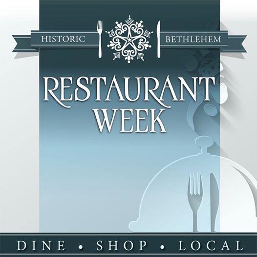 2019 Historic Bethlehem Winter Restaurant Week