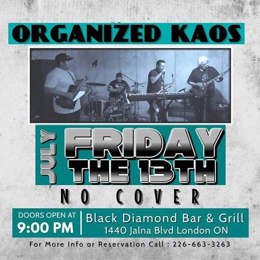 Organized Kaos Live At Black Diamond Bar & Grill