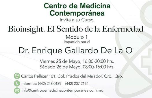 Curso Taller Bioinsight Módulo 1 Querétaro At Centro De