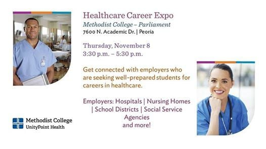 Healthcare Career Expo at Methodist College7600 N Academic