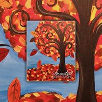 10 Tuesday &quotWhimsy Fall Tree&quot