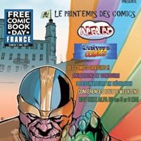 Marco Santucci at Free Comic Book Day - Nice