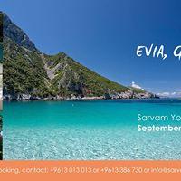 Yoga Retreat to the beautiful Island of Evia- Greece