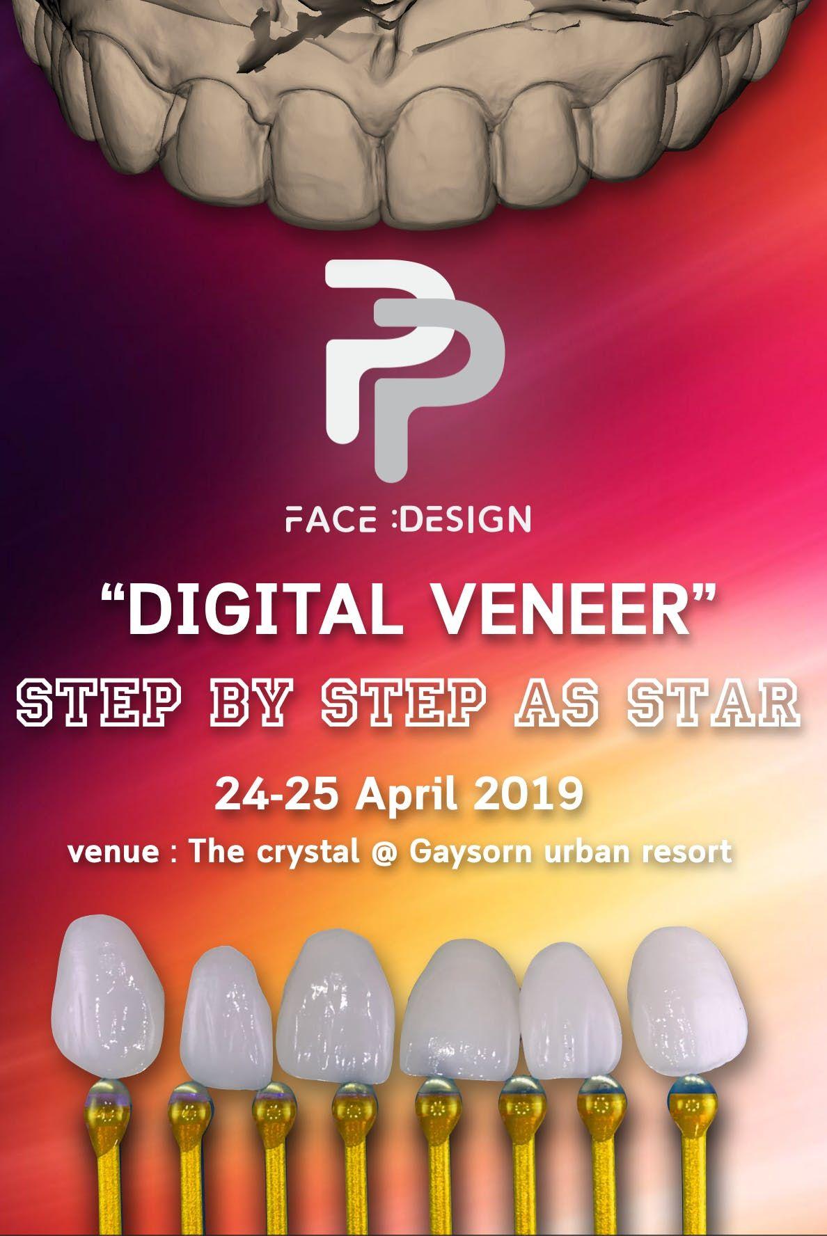 Digital Veneer  Step by Step as Star ppfacedesign