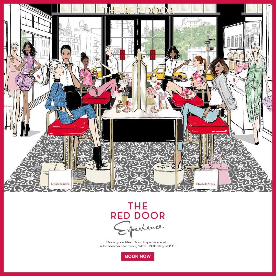 The Red Door Experience Liverpool At Debenhams Liverpool
