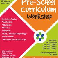 Pre-School Curriculum Workshop  Hyderabad