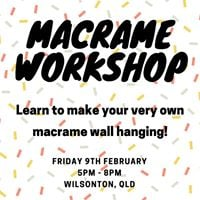 Macrame Workshop - Wall Hanging