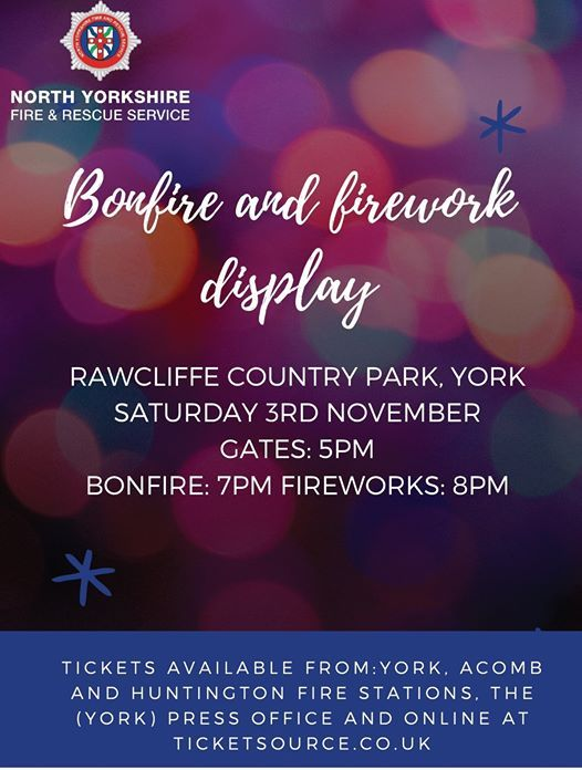 Rawcliffe Country Park Firework Display