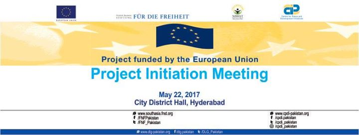 Project Initiation Meeting at City District Hall, Hyderabad