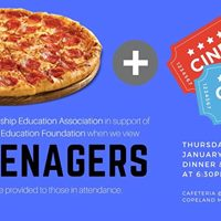RTEA Movie and Pizza Night presenting &quotScreenagers&quot