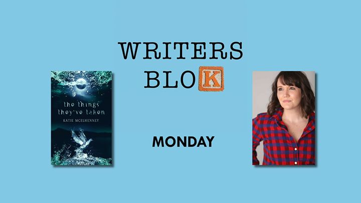 Writers Blok PLUS Katie McElhenney (and pizza)