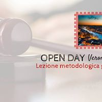 OPEN DAY Verona- Lezione metodologica gratuita