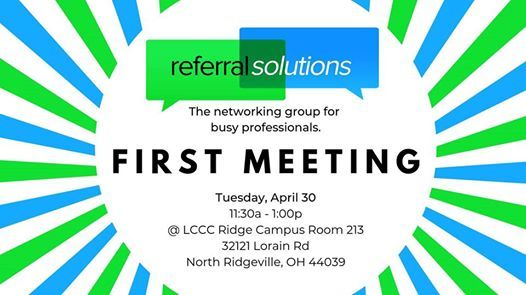 Referral Solutions Networking - First Meeting! at 32121