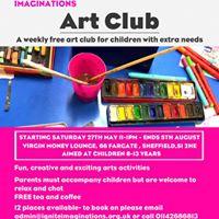 Art Club - Saturday 27th May