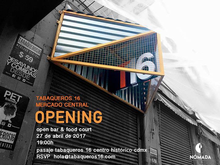 Tabaqueros 16 Mercadocentral Invita Mexico City